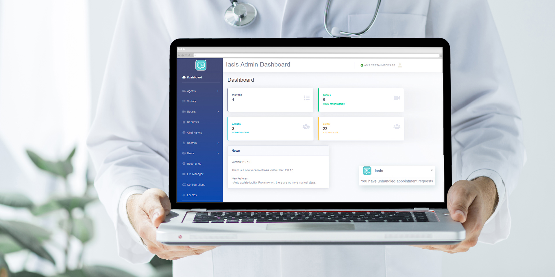 IASIS-live-talk-with-a-doctor-dashboard
